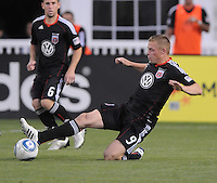 DC United forward Danny Allsopp (9).  DC United defeated The Kansas City Wizards  2-0 at RFK Stadium, Wednesday  May 5, 2010.