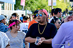 Crowds at the 2017 Neon Desert Music Festival on May 27, 2017 in El Paso Texas