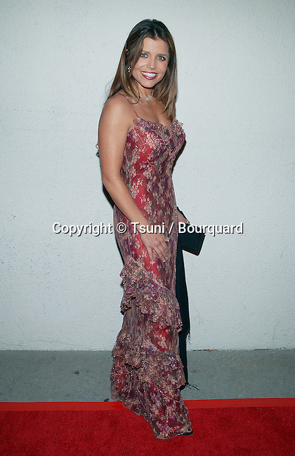 Mindy Burbano arriving at the Norby's Walters 21th Annual Pre-Holiday Christmas Party at the Friars Club in Los Angeles. November 24, 2002.