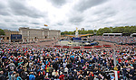 """QUEEN DIAMOND JUBILEE.The massed crowds around Buckingham Palace that turned out to witness the procession and flypast in celebration of the Queen's Diamond Jubilee_5th June 2012.Mandatory Credit Photo: ©L Cash/NEWSPIX INTERNATIONAL..**ALL FEES PAYABLE TO: """"NEWSPIX INTERNATIONAL""""**..IMMEDIATE CONFIRMATION OF USAGE REQUIRED:.Newspix International, 31 Chinnery Hill, Bishop's Stortford, ENGLAND CM23 3PS.Tel:+441279 324672  ; Fax: +441279656877.Mobile:  07775681153.e-mail: info@newspixinternational.co.uk"""