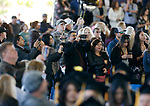 Supporters look for loved ones as graduates enter the 2019 commencement ceremony for Western Nevada College, in Carson City, Nev., on Monday, May 20, 2019. <br /> Photo by Cathleen Allison/Nevada Momentum