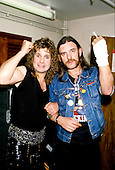 May 05, 1989: OZZY OSBOURNE & LEMMY - Odeon Hammermsith London