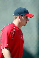 Jon Bachanov - Los Angeles Angels - 2009 spring training.Photo by:  Bill Mitchell/Four Seam Images
