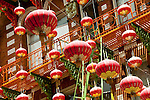 San Francisco: Lanterns in Chinatown Grant Avenue.  Photo copyright Lee Foster. Photo # casanf104306