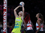 29/10/17 Fast5 2017<br /> Fast 5 Netball World Series<br /> Hisense Arena Melbourne<br /> Australia v England <br /> <br /> Gretel Tippett<br /> <br /> <br /> <br /> <br /> Photo: Grant Treeby