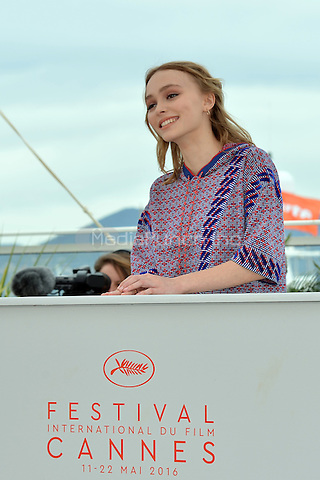Lily-Rose Depp at the Photocall &laquo;La Danseuse` - 69th Cannes Film Festival on May 13, 2016 in Cannes, France.<br /> CAP/LAF<br /> &copy;Lafitte/Capital Pictures<br /> Lily-Rose Depp at the Photocall &acute;La Danseuse` - 69th Cannes Film Festival on May 13, 2016 in Cannes, France.<br /> CAP/LAF<br /> &copy;Lafitte/Capital Pictures /MediaPunch ***NORTH AND SOUTH AMERICA ONLY***