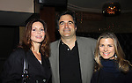 Florencia Lozano & John Viscardi & Fiona Hutchison - Marcia Tovsky throws her annual party on May 9, 2013 with actors from One Life To Live and As The World for a get together at Noir in New York City, New York. (Photo by Sue Coflin/Max Photos)