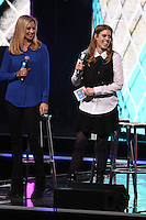 Holly Branson and Princess Beatrice<br /> at WE Day 2016 at Wembley Arena, London<br /> <br /> <br /> &copy;Ash Knotek  D3096 09/03/2016