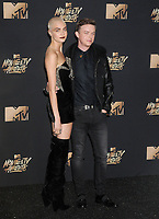 Model/actress Cara Delevingne &amp; actor Dane DeHaan at the 2017 MTV Movie &amp; TV Awards at the Shrine Auditorium, Los Angeles, USA 07 May  2017<br /> Picture: Paul Smith/Featureflash/SilverHub 0208 004 5359 sales@silverhubmedia.com