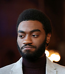 Jelani Alladin attends the press day for 'Frozen' The Broadway Musical on February 13, 2018 at the Highline Hotel in New York City.