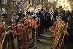 Christmas in Bethlehem, Greek Orthodox ceremony at the Church of the Nativity