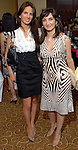 Adriana Berlanga and Haydeh Davoudi at the Latin Women's Initiative luncheon at the InterContinental Houston Friday May 08,2009.(Dave Rossman/For the Chronicle)