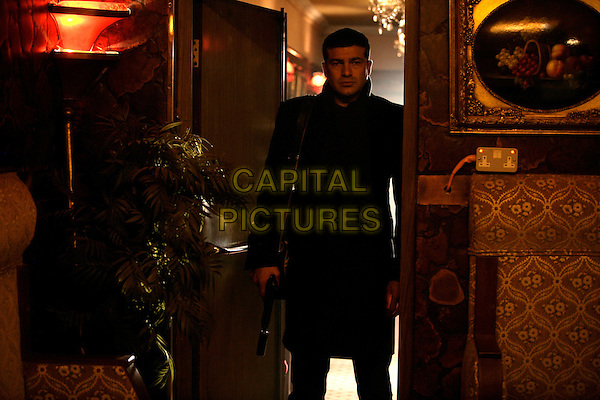 Tamer Hassan<br /> in Dead Man Running (2009) <br /> *Filmstill - Editorial Use Only*<br /> CAP/NFS<br /> Image supplied by Capital Pictures