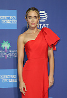 3 January 2019 - Palm Springs, California - Emily Blunt. 30th Annual Palm Springs International Film Festival Film Awards Gala held at Palm Springs Convention Center.           <br /> CAP/ADM/FS<br /> &copy;FS/ADM/Capital Pictures