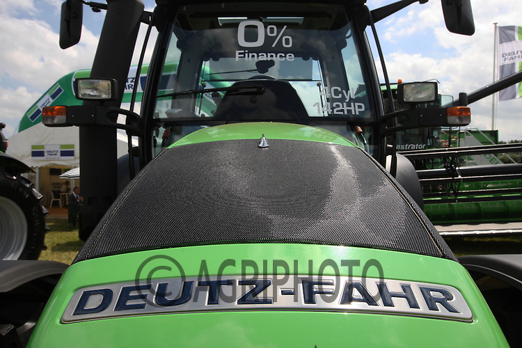 Deutz-Fahr Corporate Identity.Picture Tim Scrivener date taken 15th June 2012.Mobile 07850 303986 e-mail tim@agriphoto.com.?.covering agriculture in the Uk?.