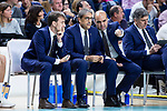 Herbalife Gran Canaria coach Luis Casimiro during Liga Endesa Playoff Semi Finals match (3rd game) between Real Madrid and Herbalife Gran Canaria at Wizink Center in Madrid, Spain. June 05, 2018. (ALTERPHOTOS/Borja B.Hojas)