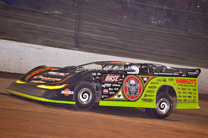 Jun 9, 2013; 12:00:41 AM; Rossburg, OH., USA; The 19th annual Dirt Late Model Dream XIX in an expanded format for Eldora's $100,000-to-win race includes two nights of double features, 567 laps of action  Mandatory Credit:(thesportswire.net)