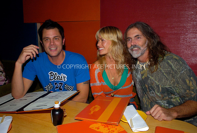 WWW.ACEPIXS.COM ** ** ** ....MIAMI, AUGUST 26, 2005....Johnny Knoxville attends a celebrity karaoke at SushiSamba.....Please byline: Philip Vaughan -- ACE PICTURES... *** ***  ..Ace Pictures, Inc:  ..Craig Ashby (212) 243-8787..e-mail: picturedesk@acepixs.com..web: http://www.acepixs.com