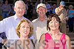 Enjoying the form at the Listowel Races last Sunday were Mike Purtill, Pat Kiely, Margerat Purtill from Ballybunion and Amne Kiely from Tarbert.