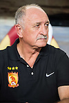 Head coach of Guangzhou Evergrande Luiz Felipe Scolari looks on prior to the Bayern Munich vs Guangzhou Evergrande as part of the Bayern Munich Asian Tour 2015  at the Tianhe Sport Centre on 23 July 2015 in Guangzhou, China. Photo by Aitor Alcalde / Power Sport Images