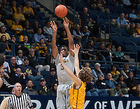 Berkeley, CA - December 10, 2014: California Golden Bears' 45-42 victory against Wyoming Cowboys during NCAA Men's Basketball game at Haas Pavilion.