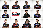 The DePaul Esports team 2018-19. (Composite by Jeff Carrion)