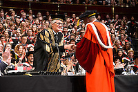 Luc Tuymans Honorary Doctorate at the Royal College of Art Convocation 2015
