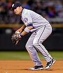 9 September 2006: Jose Vidro, second baseman for the Washington Nationals, in action against the Colorado Rockies. The Rockies defeated the Nationals 9-5 at Coors Field in Denver, Colorado.&#xA;&#xA;Mandatory Photo Credit: Ed Wolfstein.<br />