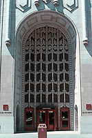 San Francisco: Pacific Telephone Entrance, 1925. Miller & Pflueger/A.A. Cantin.  Photo '89.