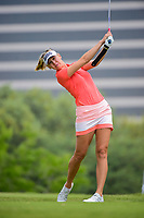 Jessica Korda (USA) watches her tee shot on 3 during round 3 of  the Volunteers of America Texas Shootout Presented by JTBC, at the Las Colinas Country Club in Irving, Texas, USA. 4/29/2017.<br /> Picture: Golffile | Ken Murray<br /> <br /> <br /> All photo usage must carry mandatory copyright credit (&copy; Golffile | Ken Murray)