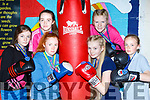 Sliabh Luachra boxers Danielle O'Neill Castleisland, Clodagh O'Sullivan, katelin Horan, Zoe Smith, Ava Fitzmaurice and Brigid O'Brien who won Munster Championship medals last weekend