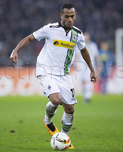 20.02.2016. Borussia Park, Mönchengladbach, North Rhine-Westphalia, Germany. Bundesliga football, Borussia Moenchengladbach verus Cologne.