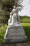 Lady Jenningham memorial statue, Berwick-upon-Tweed, Northumberland, England, UK