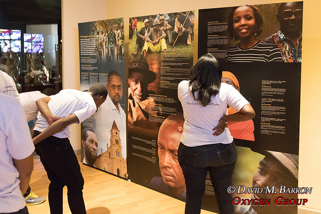 Visitors At Genocide Museum