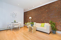 Living Room at 303 West 149th Street