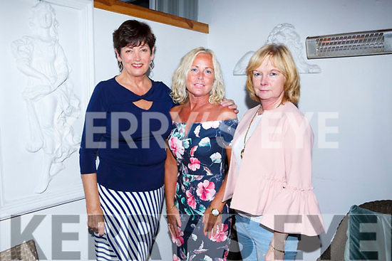Liz Keane, Kielduff  celebrating a birthday with friends at Bella Bia's on Saturdsy L-r Ann Donnolly, Liz Keane and Caroline Burke