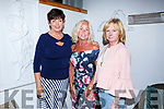 Liz Keane, Kielduff  celebrating a birthday with friends at Bella Bia's on Saturdsy L-r Ann Donnolly, Liz Keane and Caroline Burke