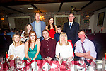 Celebrating their Graduation from IT Tralee at Cassidy's on Friday  were Front l-r Mags Gavin, Graduate Denise Gavin (childhood Care), Graduate  Shane Stapleton, (Quantity Surveying), Mary Gavin, John Gavin, Back l-r Alannah Gavin, John Austin, Louise Gavin, Nathan Gavin and Billy Boyle