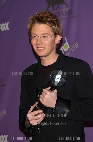 CLAY AIKEN at the 2003 Billboard Music Awards at the MGM Grand, Las Vegas. .December 10, 2003