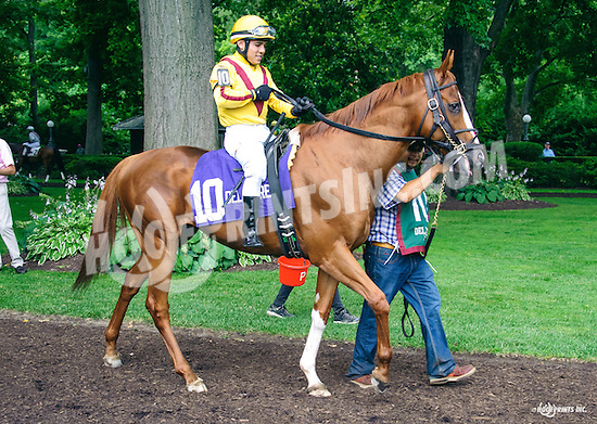 Kulik Lodge before The Cape Henlopen Stakes at Delaware Park on 7/9/16