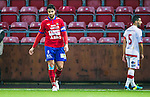S&ouml;dert&auml;lje 2014-11-09 Fotboll Kval till Superettan Assyriska FF - &Ouml;rgryte IS :  <br /> &Ouml;rgrytes George Mourad deppar under matchen mellan Assyriska FF och &Ouml;rgryte IS <br /> (Foto: Kenta J&ouml;nsson) Nyckelord:  S&ouml;dert&auml;lje Fotbollsarena Kval Superettan Assyriska AFF &Ouml;rgryte &Ouml;IS depp besviken besvikelse sorg ledsen deppig nedst&auml;md uppgiven sad disappointment disappointed dejected