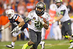 01/09/2011 - LaMichael James rushes for a first down in the second half during the BCS National Championship game in Scottsdale, Arizona.