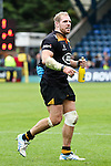 London Wasps' James Haskell with his man of the match bottle - Rugby Union - 2014 / 2015 Aviva Premiership - Wasps vs. Bath - Adams Park Stadium - London - 11/10/2014 - Pic Charlie Forgham-Bailey/Sportimage