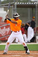 Justin Cohen, #26 of Olympia High School, Florida playing for Florida Burn Team the during the WWBA World Championship 2013 at the Roger Dean Complex on October 24, 2013 in Jupiter, Florida. (Stacy Jo Grant/Four Seam Images)