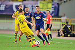 Manchester United winger Adnan Januzaj (l) during the International Champions Cup China 2016, match between Manchester United vs Borussia  Dortmund on 22 July 2016 held at the Shanghai Stadium in Shanghai, China. Photo by Marcio Machado / Power Sport Images