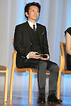 Japanese cartoonist Hirohiko Araki attends the 45th annual Best Dresser Awards ceremony in Tokyo, Japan on November 30, 2016. (Photo by Shingo Ito/AFLO)