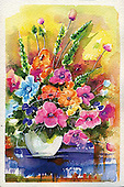 Isabella, FLOWERS, BLUMEN, FLORES, paintings+++++,ITKE026470-ALE,#f# ,everyday