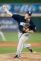 New Orleans Zephyrs pitcher Tom Koehler #22 delivers during the Pacific Coast League baseball game against the Round Rock Express on April 30, 2012 at The Dell Diamond in Round Rock, Texas. The Zephyrs defeated the Express 5-3. (Andrew Woolley / Four Seam Images).
