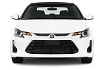 Straight front view of a 2014 Scion TC Coupe