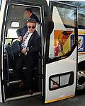 FUDBAL, NELSPRUIT, 24. Jun. 2010. - Selektor Radomir Antic na aerodromu u Nelspruitu. Reprezentacije Srbije zavrsila je ucesce na Svetskom prvenstvu u Juznoj Africi nakon poraza od Australije rezultatom 2:1. Foto: Nenad Negovanovic